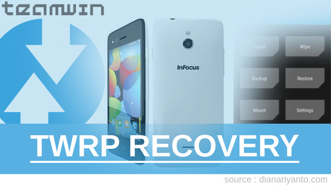 TWRP Recovery InFocus M2 Tested